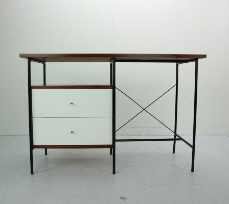 Rosewood Desk by Geraldo de Barros for Unilabor, Brazil 1956