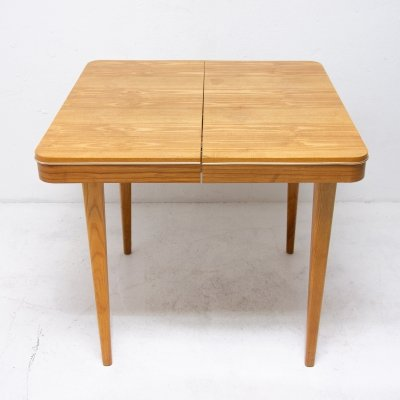 Mid century adjustable Dining Table by Bohumil Landsman for Jitona, 1960s