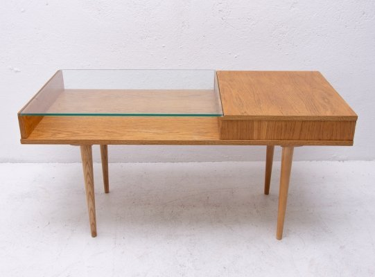 Midcentury glazed coffee table by Frantisek Jirak for Tatra nabytok, 1960s