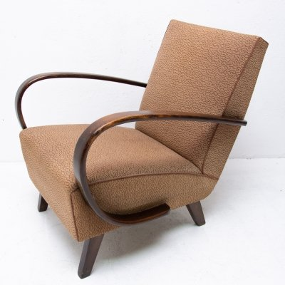 Bentwood armchair by Jindřich Halabala for UP Závody, 1950s