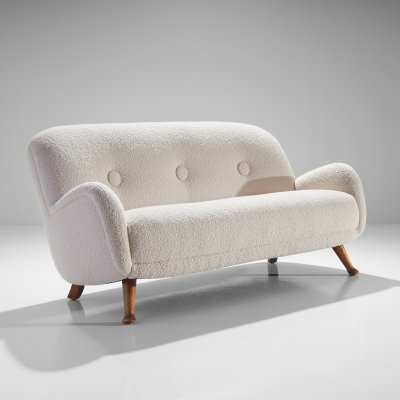 Sofa by Berga Möbler, Sweden 1940s