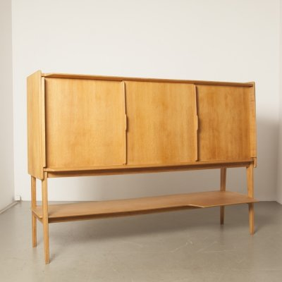 French oak dresser, 1960s