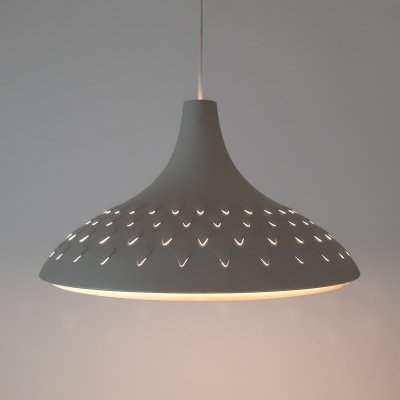 Danish hanging lamp with V perforations