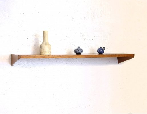 Wall Shelf in Teak by Kai Kristiansen for Feldballes Møbelfabrik