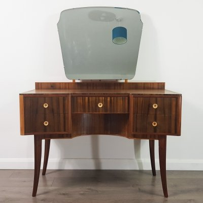 Morris of Glasgow Dressing Table with Mirror, 1950s