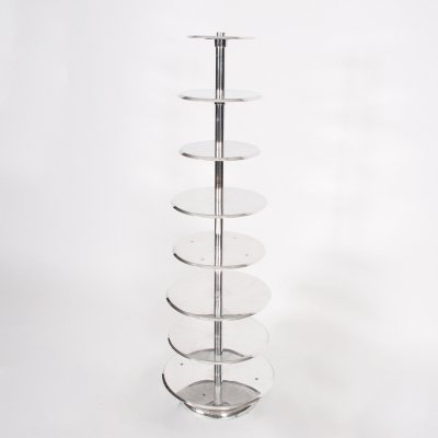 Polished Aluminium Patisserie Stand, France 1960s