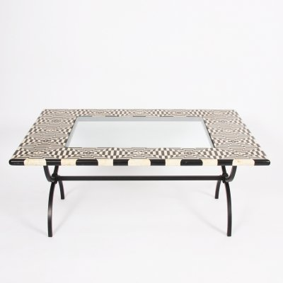 Black & White Marble Top Table