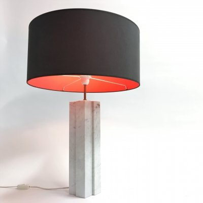 Marble tabe lamp by Florence Knoll, 1960s