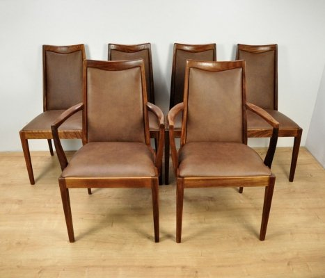 Set of 6 Mid-Century Teak Dining Chairs from G-Plan, 1960s