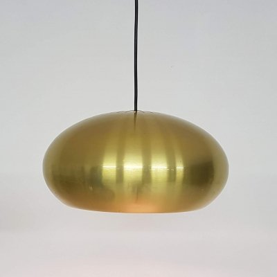 Brass Jo Hammerborg 'Medio' pendant light, Denmark 1966
