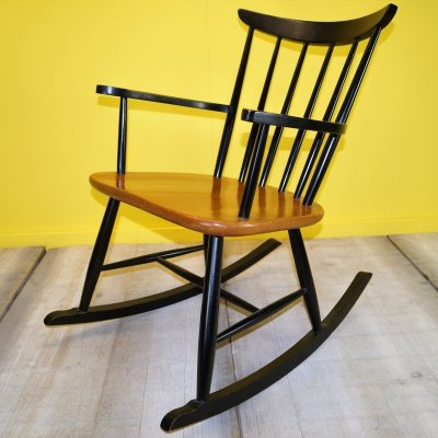 Ilmari Tapiovaara rocking chair, 1970s