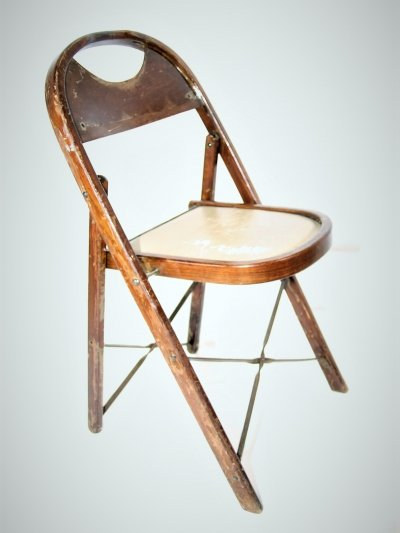 1940's Adirondack N.Y. Theater Chair