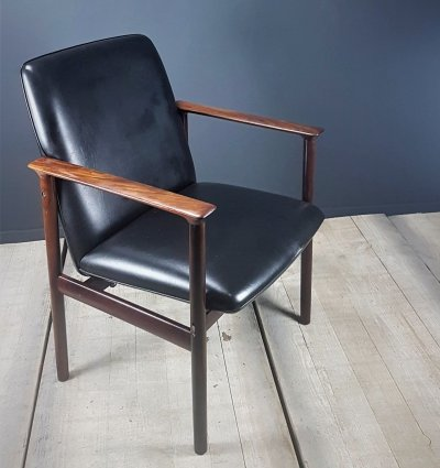 Rosewood 'Impala' chair by Cor Bontenbal for Fristho, 1960s