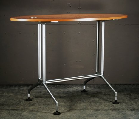 High stand table on alloy feet, 1990s