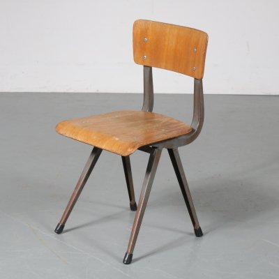 Industrial children chair by Friso Kramer, the Netherlands 1950s