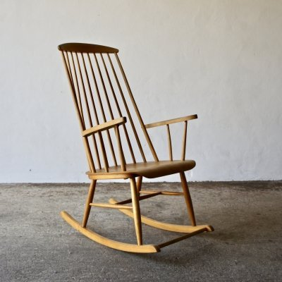 Madmoiselle Rocking Chair by Ilmari Tapiovaara