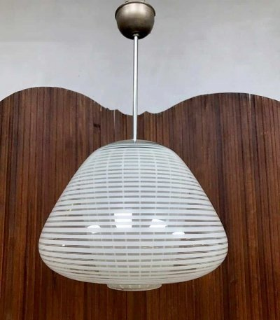 Vintage pendant lamp by Wilhelm Wagenfeld for Peill & Putzler