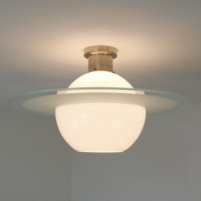 Early Giso no. 3056D 'Saturn' ceiling lamp by W. H. Gispen for Gispen , NL 1928