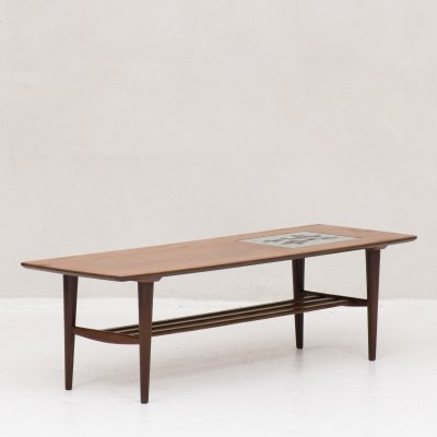 Coffee table by Louis van Teeffelen for Wébé, the Netherlands 1950's