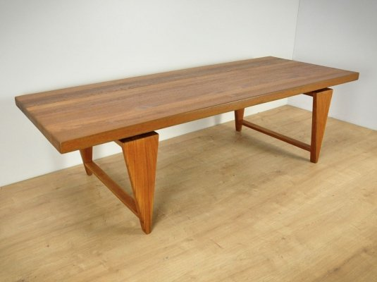 Teak Coffee Table by Illum Wikkelsø for AS Mikael Laursen, 1960s