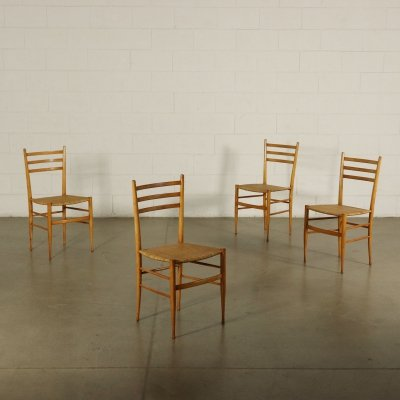 Set of four 1950s Vintage Chairs