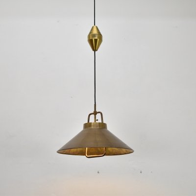 Pendant Model P 295 by Frits Schlegel for Lyfa, Denmark 1960's