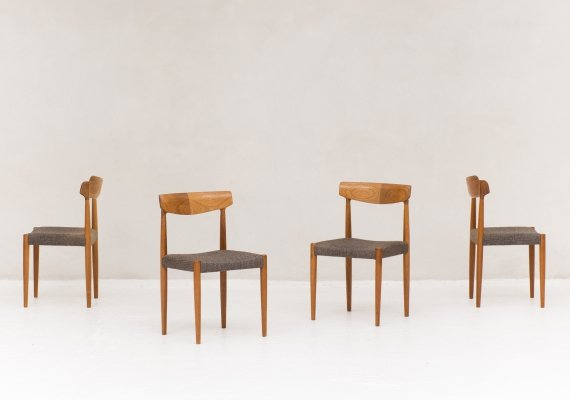 Set of 4 dining chairs by Bovenkamp, the Netherlands 1960's