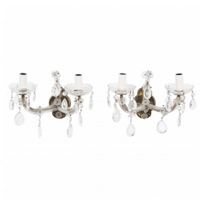Pair of Wall Sconces, 1950s