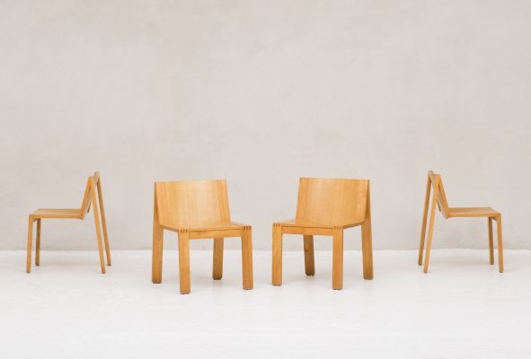 4 'SE15' chairs by Pierre Mazairac & Karel Boonzaaijer for Pastoe