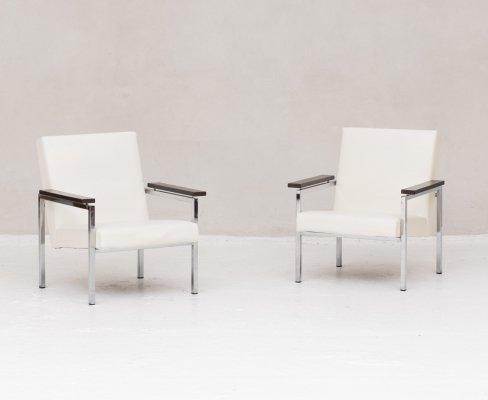Set of two easy chairs 'Model 30' by Gijs Van der Sluis, 1960s