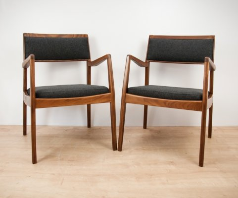 Pair of C140 Playboy Armchairs by Jens Risom, 1960s
