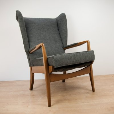 Grey Armchair by Parker Knoll, 1960s