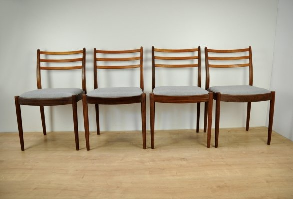 Set of 4 Dining Chairs by V. Wilkins for G-Plan, 1960s