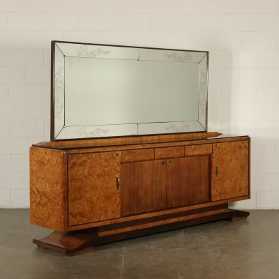 Vintage Buffet with mirror, 1930s