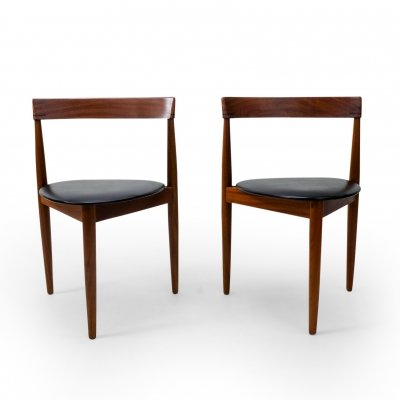 Pair of Hans Olsen for Frem Røjle Dining Chairs, 1960s