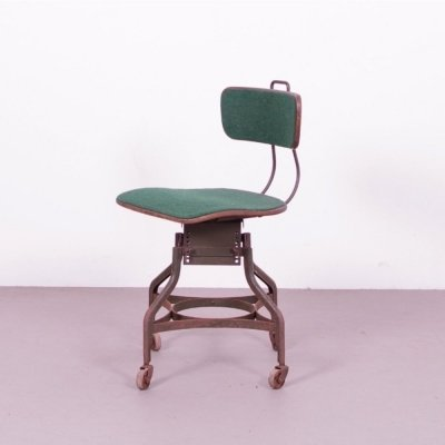 Uhl steel Toledo chair, 1930s