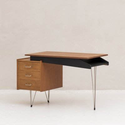 Writing desk by Cees Braakman for Pastoe, the Netherlands 1950's