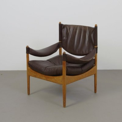Kristian Vedel Modus armchair in leather