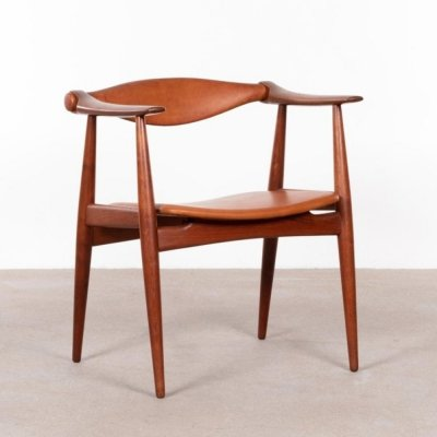 CH34 dining chair by Hans Wegner for Carl Hansen & Søn, 1950s
