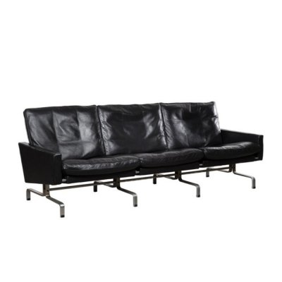 Rare & early PK31 3-seater sofa by Poul Kjærholm for E. Kold Christensen