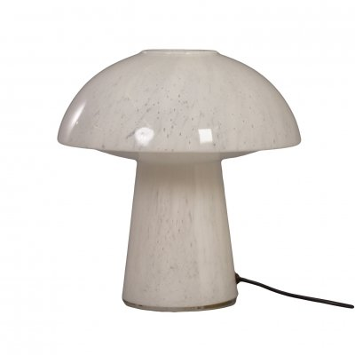 Opal Glass Mushroom Lamp by Glashütte Limburg Leuchten, 1970s