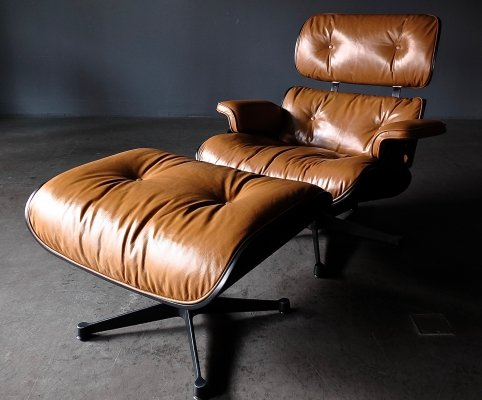Eames Lounge Chair + Ottoman, 1960s