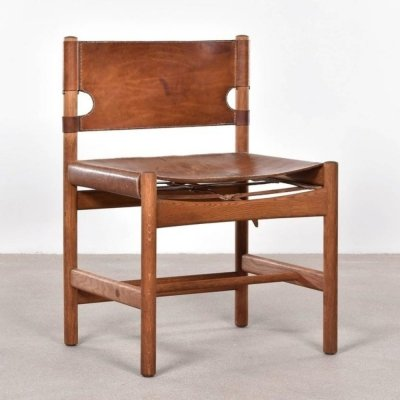 Børge Mogensen 3251 chair in Oak & Leather