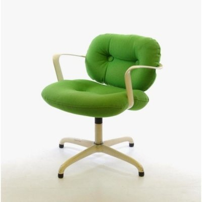 Andrew Ivar Morrison & Bruce Hannah 2308 chair with orginal green upholstery