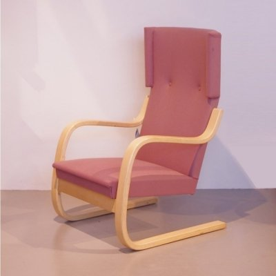 Alvar Aalto 406 armchair with orginal upholstery
