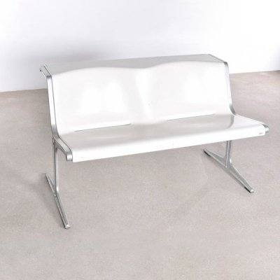 Friso Kramer Olympic 2 seater bench from the 1200 serie, 1970s