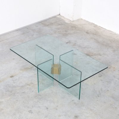 Glass Coffee Table by Peter Ghyczy