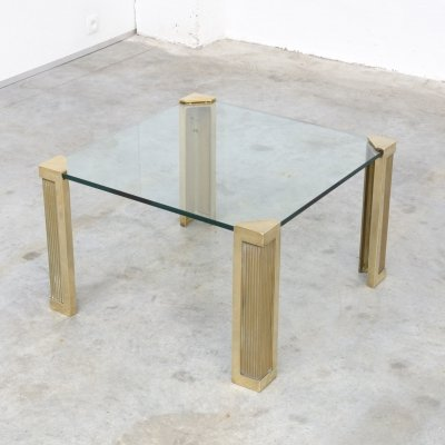 T14 Square Coffee Table by Peter Ghyczy