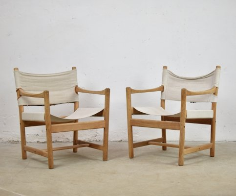 Set of 2 easy chairs by Ditte & Adrian Heath for FDB Møbler, Denmark 1960's