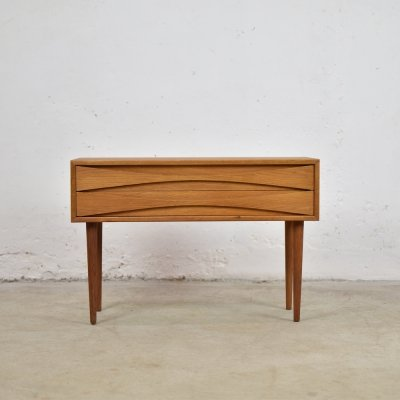 Oak chest of drawers by Niels Clausen for NC Mobler, Denmark 1960's